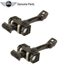 Mini Cooper R50 Pair Set of Front Left & Right Door Check Genuine 51217176811