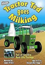 Tractor Ted Goes Milking DVD UK R2 ORIGINAL Early Years Foundation Stage 1