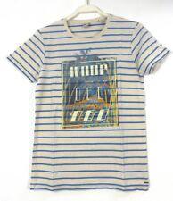 Scotch & Soda Shrunk Garçons T-shirt frontprint Rayures Taille 14 164 (ge5)