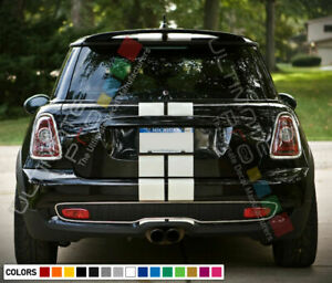 Stripe Kit Decal for Mini Cooper Hatch R57 R56 R50 R53 F55 F56 Hood Trunk Roof