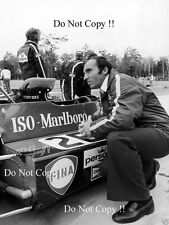 JACKY ICKX Williams ISO MARLBORO 1r USA GRAND PRIX 1973 Fotografia