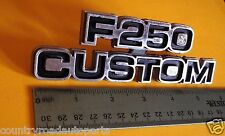 Original 1977-1978-1979 Ford F-250 Custom Fender Emblem
