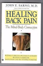 Healing Back Pain: The Mind/Body Connection, John E. Sarno M.D (Paperback)