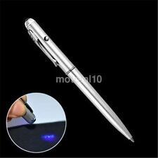New Theft Detection UV Light Pen Invisible Ink Security Secret Spy Marker Pen