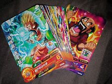 Carte Dragon Ball Z DBZ Dragon Ball Heroes God Mission Part 4 HGD4 #Regular Set