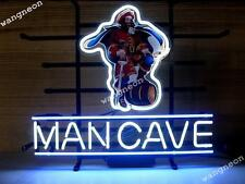 "14X10"" CAPTAIN MORGAN MAN CAVE RUM PIRATE Neon Sign Beer Bar Light FREE SHIPPING"