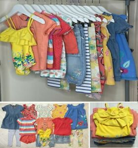 14x BABY GIRLS SUMMER CLOTHES BUNDLE – 18-24 MONTHS - USED - EXCELLENT CONDITION