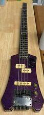 Hohner Steinberger Purple Headless Bass Guitar