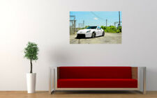 "NISSAN 370Z VOSSEN WHEELS PRINT WALL POSTER PICTURE 33.1""x20.7"""