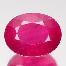 Heating Transparent Loose Natural Rubies