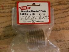 74015-01G .15 Cylinder Head (Gold) - Kyosho GX15 Nitro Engine Pure Ten Alpha