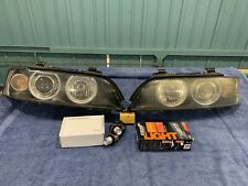 Genuine BMW E39 5 Series & M5 HID Zenon Halo Corona Angel Eyes Headlights  Lamps