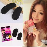 2 Almohadilla de esponja de inserción de forma esponjosa para cabello agregadas