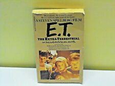 Vintage 1982 E.T. Extra Terrestrial Paperback Book Steven Spielberg Collectible