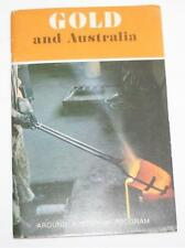 Gold and Australia 1968 By Eric Dunlop - Sticker Book -