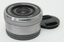 Silber SELP1650 16-50 mm F/3.5-5.6 E PZ OSS Objektiv für sony e-mount kamera