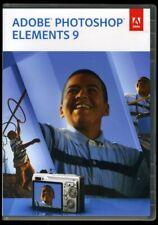 Genuine Photoshop Elements 9 - 2 discs w/ key for Windows & MAC OS
