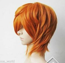 New Diao Daiwa Angel Brief Orange Blonde Short Cosplay Halloween Anime Wig