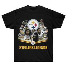 Pittsburgh Steelers T Shirt NFL Champs Sport Funny Black Vintage Gift Men 2021