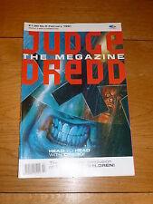 JUDGE DREDD THE MEGAZINE Comic - Series 1 - No 5 - Date 02/1991 - UK Comic
