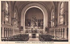 WARDRECQUES maison de l'ave maria la chapelle timbrée 1956