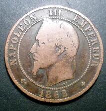 10 CENTIMES NAPOLEON 3  1862 BB
