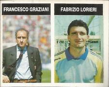 [AA] FIGURINA  CAMPIONI & CAMPIONATO 1990/91-ASCOLI-GRAZIANI-LORIERI