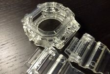 For G-shock GX-56  transparent clear jelly bezel and strap