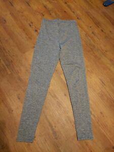 Ladies Asos Leggings Grey Size 10 Full Length