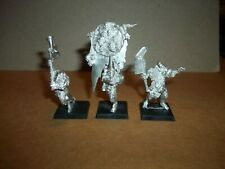 Warhammer Fantasy Beastmen Nurgle Pestigors Command METAL OOP