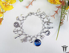 Once Upon A Time Inspired Photo Charm Bracelet Storybrook Fairy Tale TV