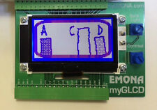 National Instruments myGLCD by Emona graphic LCD directly to NI myDAQ
