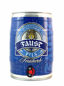 Faust Pils Partyfass 5,0l, alc. 4,9 Vol.-%