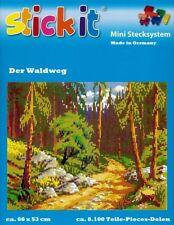 Mini Stecksystem Der Waldweg ca. 8.100 Teile Nr. 41278 mit XXL-Steckvorlage