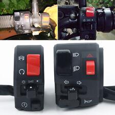 2 Moto Bajo / Alto Haz Amplificador Faro Interruptor Luz Motor Eléctrico