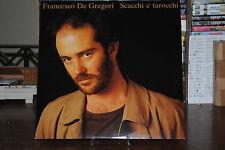 FRANCESCO DE GREGORI SCACCHI E TAROCCHI LP 33 GIRI
