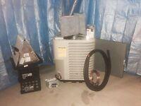 3 Ton Mobile Home Split Heat Pump System Complete