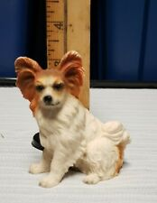 Vintage 1996 Summit Collection Papillon Dog - The Continental Toy Spaniel Figure
