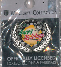 Pittsburgh Penguins NHL hockey pin - Happy Holidays -  badge