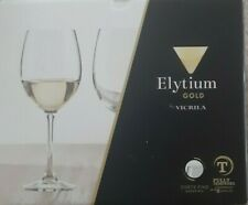 Vicrila Elytium Gold fully tempered wine glass 35cl x 6pcs