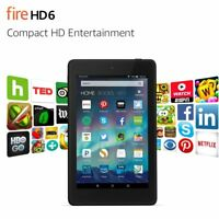 "Amazon Fire HD 6 Tablet 6"" HD Display 8 GB, 16 GB, Wifi, 4th Generation"