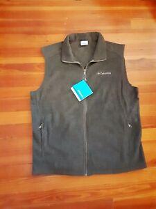 Columbia Men's Cathedral Peak II Vest, Quick Dri, Fleece, Jacket FREE SHIPPING!!