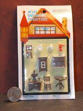 Dollhouse Miniature Kitchen Set 1:48 Quarter Inch scale 1/4 D32 Dollys Gallery