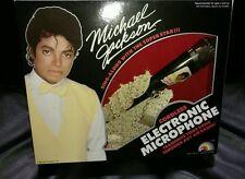 Vintage 1984 Michael Jackson Cordless Electronic Microphone MINT CONDITION L@@K.