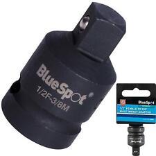 "BlueSpot Socket Converter Reducer 1/2"" Female to 3/8"" Male Drive Impact Adaptor"
