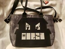 New ListingSpooky Mickey Harveys Mini Streamline Tote Glow In Dark Haunted House