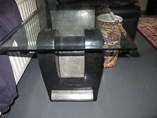 Very heavy coffee/lamp table
