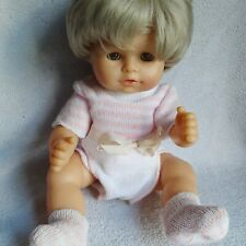 """Gotz Puppe  Doll Girl Baby Anatomically Correct 16"""" Original Outfit NO bottle"""
