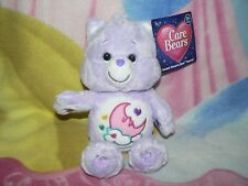 "NWT 8"" PLUSH PURPLE SWEET DREAMS MOON CLOUD CARE BEAR BABY BOY GIRL GIFT TOY"