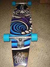 "Iconic Lib Tech W/ Rare Jamie Lynn Wave Graphic Cruiser Complete 35"" Skateboard"